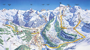 Jungfrau Trail Map